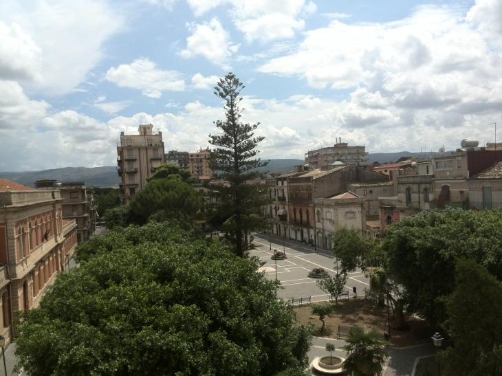 P.zza Dante, Francofonte (SR) - My hometown in Sicily
