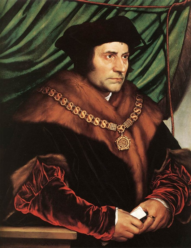 Sir Thomas More - Holbein, Tempera on Wood