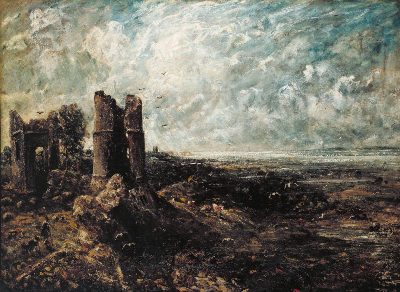 Sketch for 'Hadleigh Castle' c.1828-9 John Constable 1776-1837 Purchased 1935 http://www.tate.org.uk/art/work/N04810