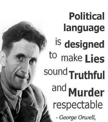 Orwell - Political language
