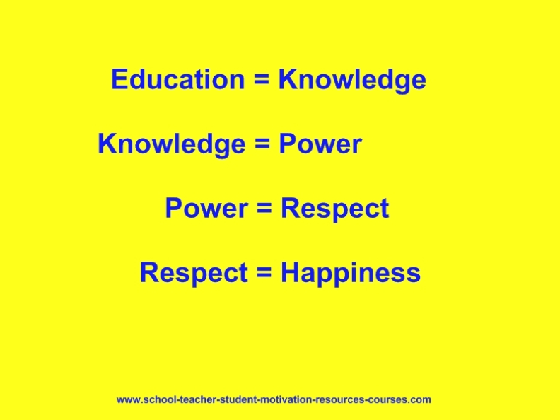 education is knowledge and power